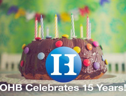 OHB Celebrates 15 Years!
