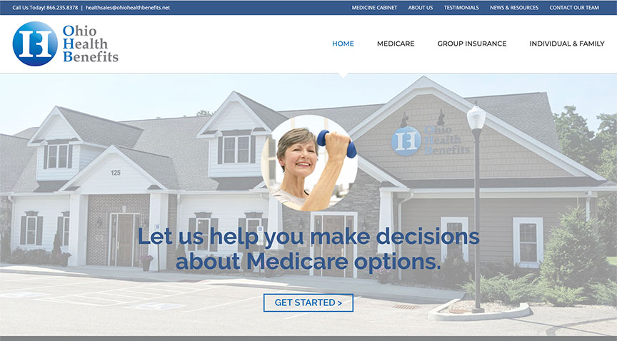 Ohio Health Benefits NEW website